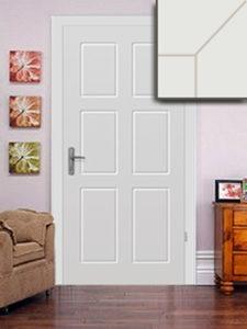 Festett MDF ajtó, mart ajtólappal, normál tokkal, 69.900+áfa