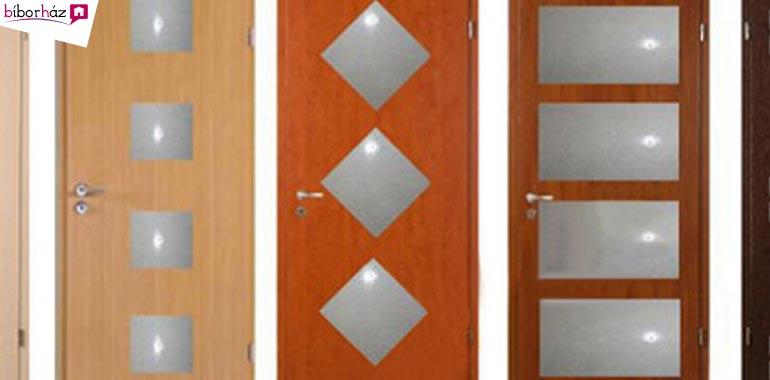 Design ajtók 5 színben, utólag szerelt tokkal, RAKTÁRRÓL
