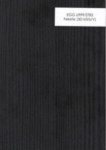 EGG U999/ST85 Fekete