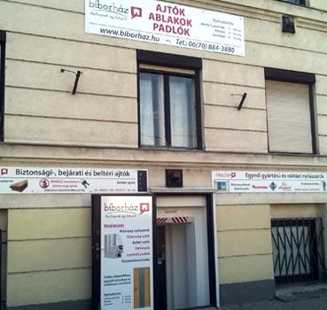 biborhaz kapcsolat Reitter Ferenc utcai bemutatouzlet