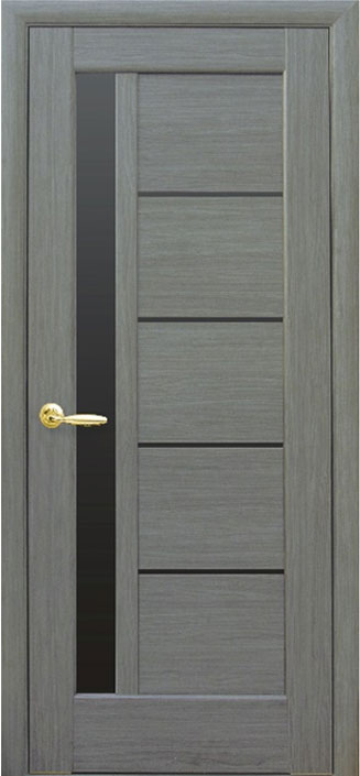 pvc belteri ajto greta grey fekete uveg