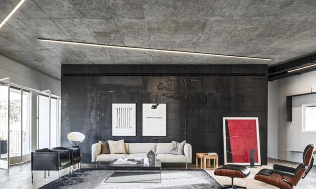 Üzemcsarnokból luxuslakás – a loft stílus