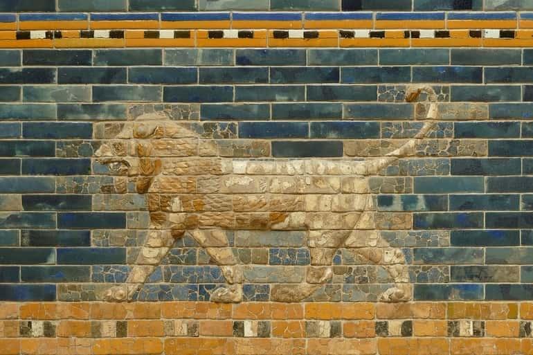 Babiloni csempe