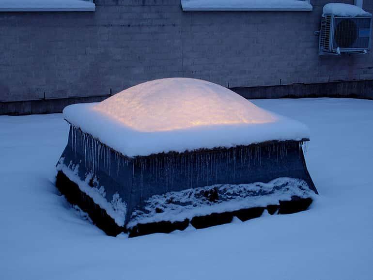Hó és a szél elleni terhelhetőség