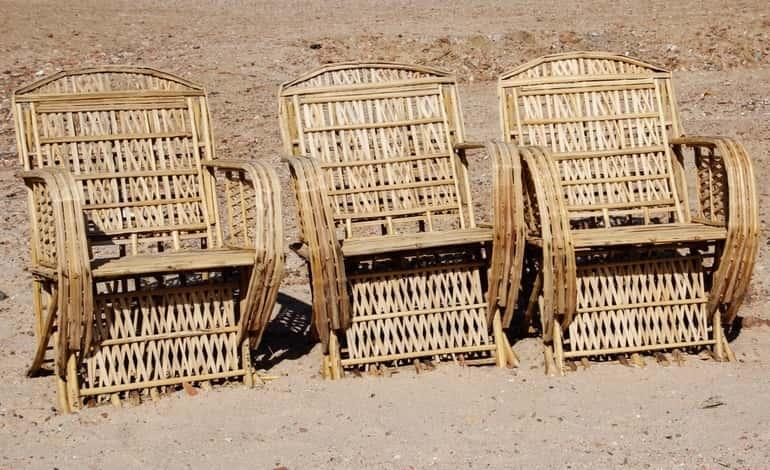 Még mindig trendi: fonott bútorok