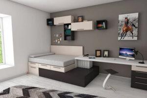 Egy kis lakásban is remek helytakarékos megoldások lehetnek.