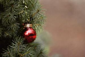 A karácsony központi eleme a karácsonyfa.