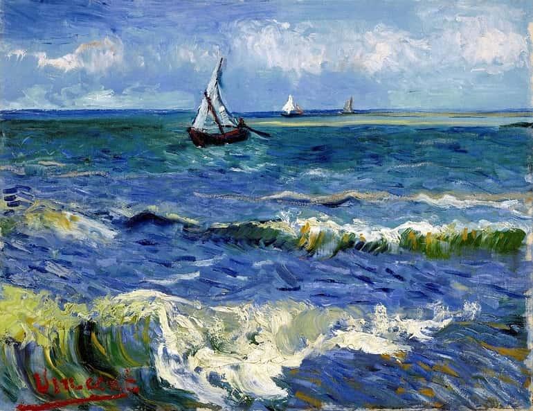 Van Gogh festmény