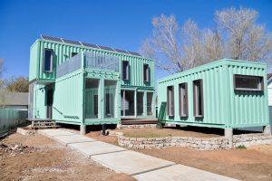 Az elszabaduló ingatlan árak hamarosan elhozhatják hazánkban is a konténerházak népszerűségét.