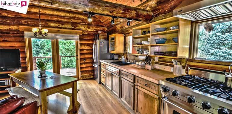 Építsünk egy aromaterápiás otthont! A rönkház