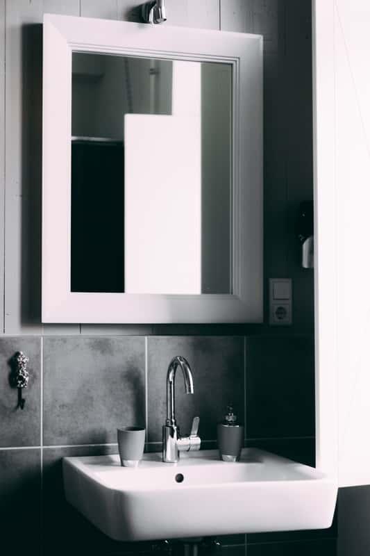 a fürdőszoba nem lehet meg tükör nélkül