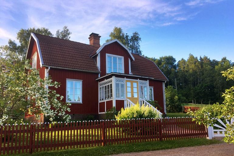 Skandináv ház.